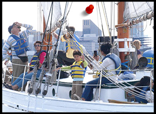 Sail Seattle on the historic Schooner Lavengro, owned by the Northwest Schooner Society, a 501(c)3.